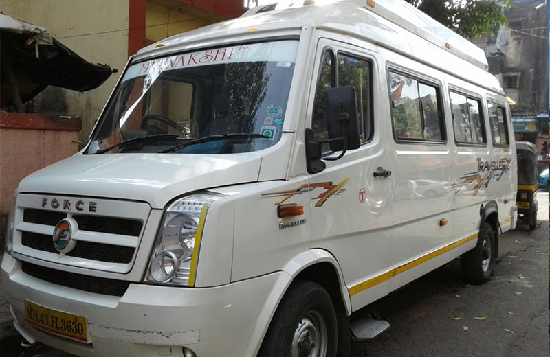 17 Seater AC Tempo Traveller on Rent